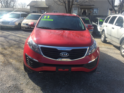 2011 Kia Sportage for sale in Newark, OH