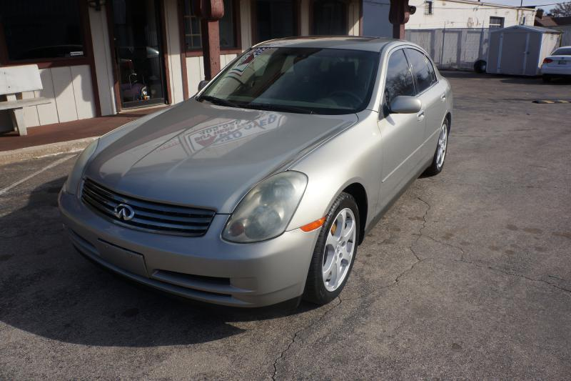 2003 Infiniti G35 Luxury 4dr Sedan w/Leather - Oklahoma City OK