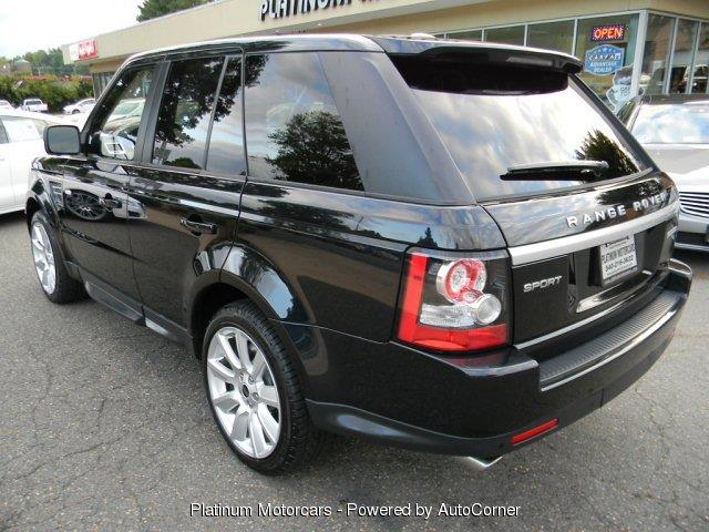 2012 Land Rover Range Rover Sport 4x4 Supercharged 4dr SUV In