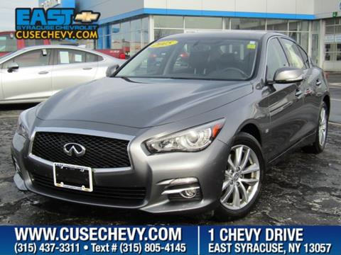 2015 Infiniti Q50 for sale in East Syracuse, NY