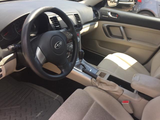 2009 Subaru Legacy AWD 2.5i Special Edition 4dr Sedan 4A - Bristol CT