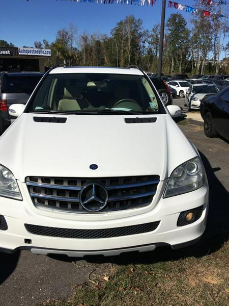 2006 mercedes benz m class for sale in alabama