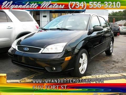 2007 Ford Focus for sale in Wyandotte, MI