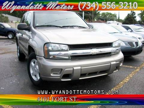 2003 Chevrolet TrailBlazer for sale in Wyandotte, MI