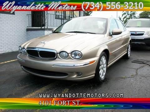 2003 Jaguar X-Type for sale in Wyandotte, MI