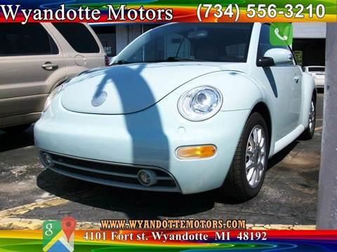 2004 Volkswagen New Beetle for sale in Wyandotte, MI