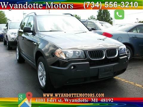 2005 BMW X3 for sale in Wyandotte, MI