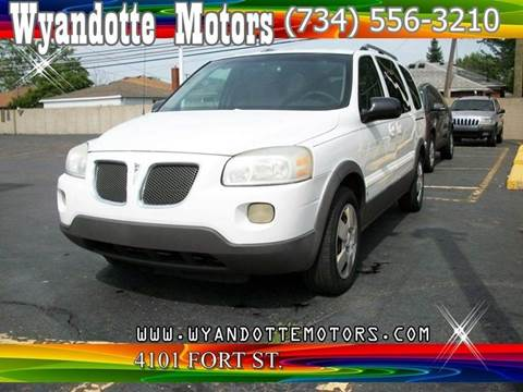 2006 Pontiac Montana SV6 for sale in Wyandotte, MI