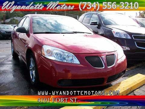 2007 Pontiac G6 for sale in Wyandotte, MI