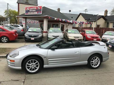 2001 Mitsubishi Eclipse Spyder for sale in Milwaukee, WI