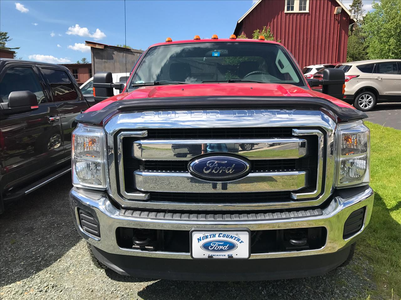 2013 Ford F-350 Super Duty 4x4 XLT 2dr Regular Cab 141 in. WB SRW Chassis - Lancaster NH