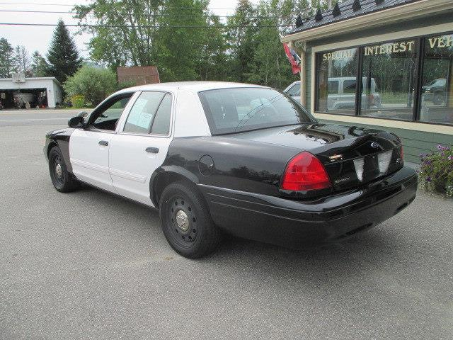 2011 Ford Crown Victoria Police Interceptor w/3.55 LS Axle - Lancaster NH