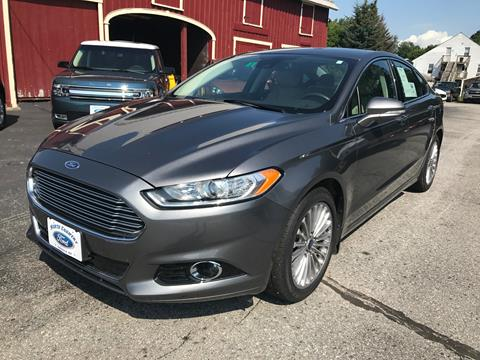 2014 Ford Fusion for sale in Lancaster, NH