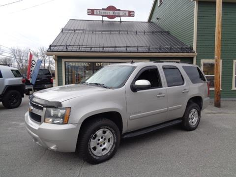 2007 Chevrolet Tahoe for sale in Lancaster, NH