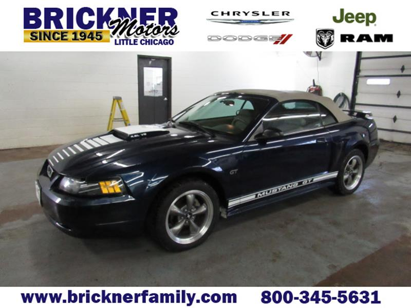 used 2003 ford mustang for sale in wisconsin. Black Bedroom Furniture Sets. Home Design Ideas