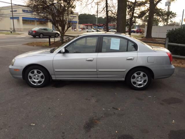 2003 Hyundai Elantra near Wilson NC 27893 for $2,995.00