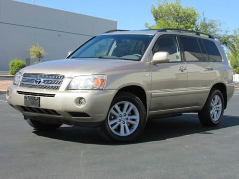 2007 Toyota Highlander Hybrid for sale in Las Vegas, NV