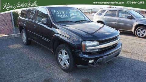2003 Chevrolet TrailBlazer for sale in Mifflinburg, PA