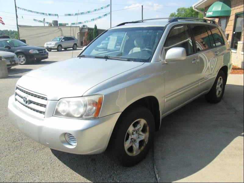 2003 Toyota Highlander Fwd 4dr Suv In Rockford Il Auto Solutions