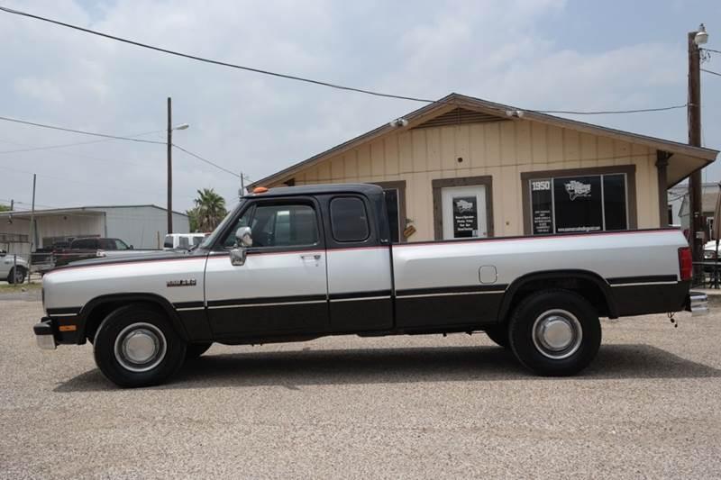 1992 Dodge RAM 250 2dr LE Extended Cab LB - San Marcos TX