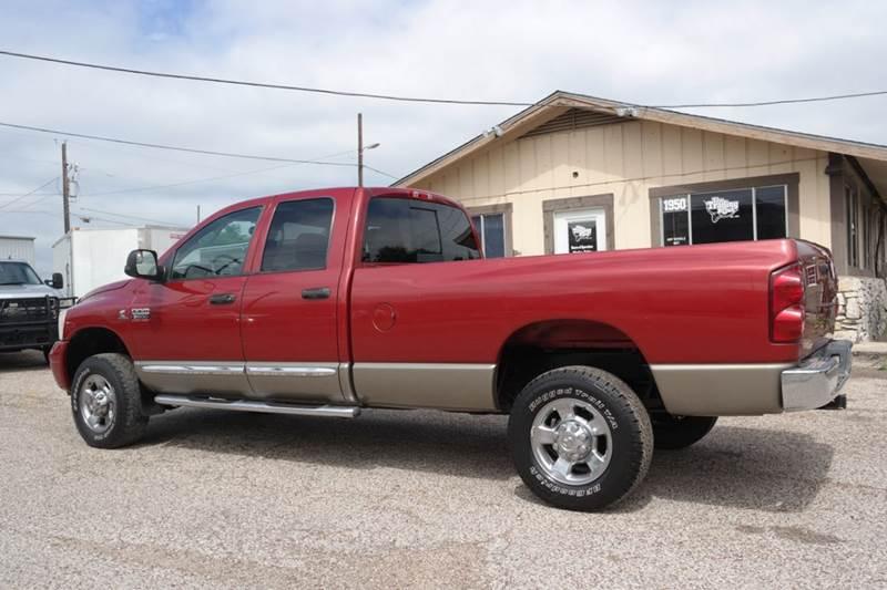 2008 Dodge Ram Pickup 2500 Laramie 4dr Quad Cab 4WD LB - San Marcos TX