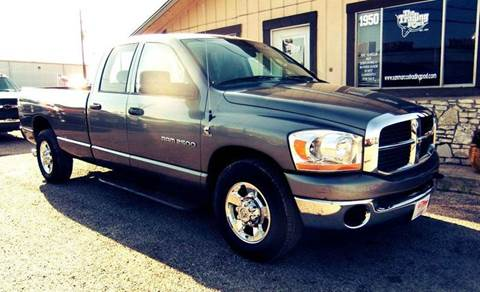 2006 Dodge Ram Pickup 2500 for sale in San Marcos, TX