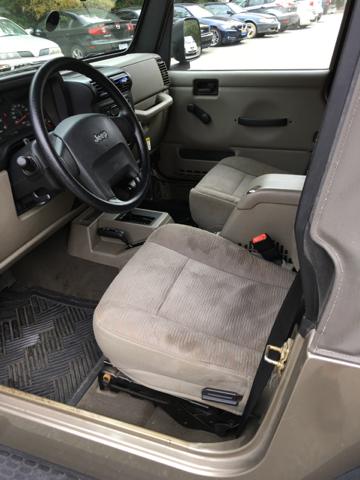 2005 Jeep Wrangler 2dr X 4WD SUV - Apex NC