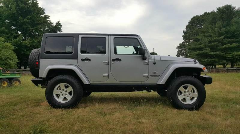 2014 Jeep Wrangler Unlimited 4x4 Sport 4dr SUV - Manassas VA
