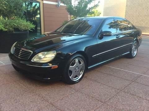 2002 Mercedes-Benz S-Class for sale in Phoenix, AZ