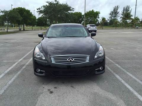 2011 Infiniti G37 Convertible for sale in Miami, FL