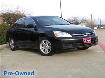 2007 Honda Accord for sale in Mckinney, TX