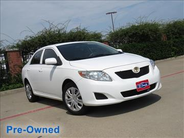 2010 Toyota Corolla for sale in Mckinney, TX