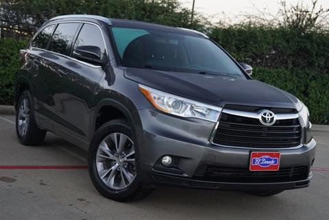 2014 Toyota Highlander For Sale In Mckinney, TX