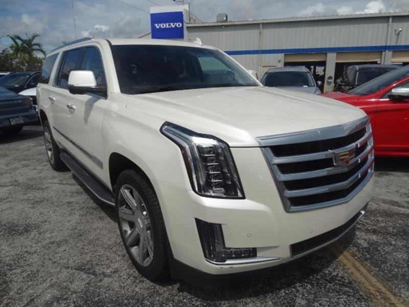 2015 cadillac escalade for sale in florida. Black Bedroom Furniture Sets. Home Design Ideas