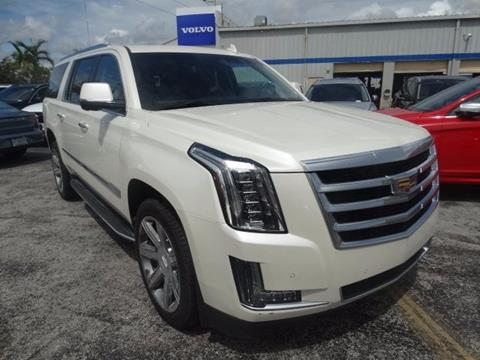 2015 Cadillac Escalade ESV for sale in Miami, FL