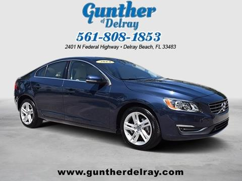 2014 Volvo S60 for sale in Delray Beach FL