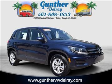 2014 Volkswagen Tiguan for sale in Delray Beach, FL