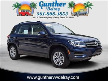 2016 Volkswagen Tiguan for sale in Delray Beach, FL