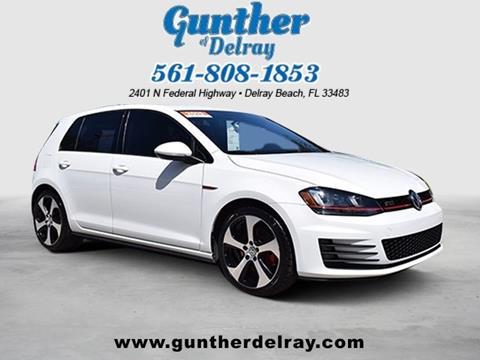 2015 Volkswagen Golf GTI for sale in Delray Beach FL