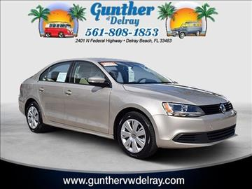 2014 Volkswagen Jetta for sale in Delray Beach, FL