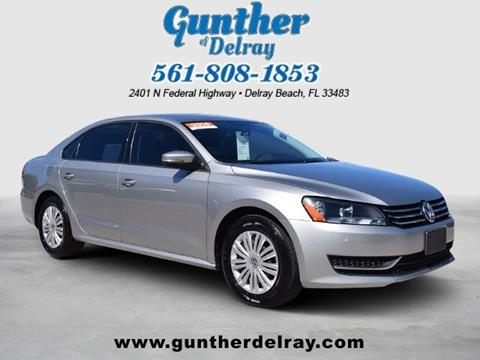 2014 Volkswagen Passat for sale in Delray Beach, FL