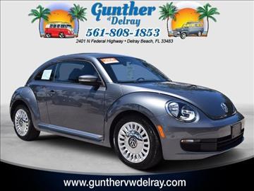 2014 Volkswagen Beetle for sale in Delray Beach, FL