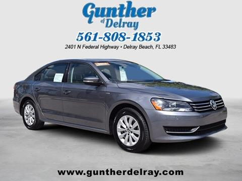 2015 Volkswagen Passat for sale in Delray Beach FL