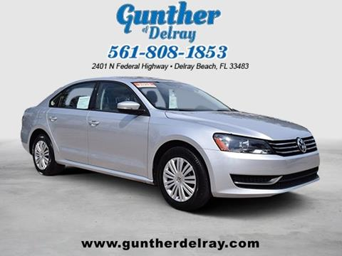 2015 Volkswagen Passat for sale in Delray Beach, FL