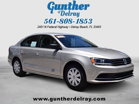 2015 Volkswagen Jetta for sale in Delray Beach, FL
