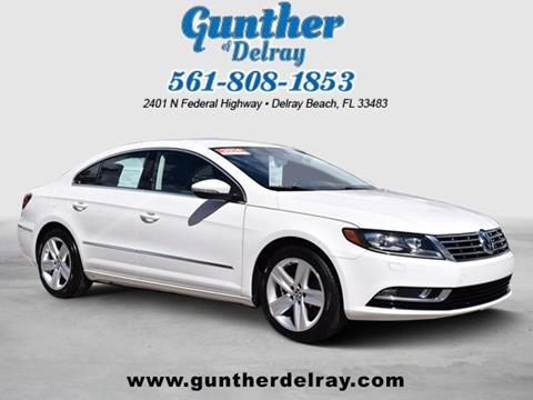2014 Volkswagen CC for sale in Delray Beach FL