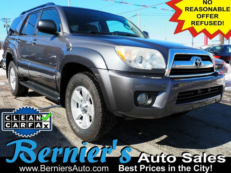 2007 toyota 4runner sr5 4dr suv 4wd v6 in woonsocket ri. Black Bedroom Furniture Sets. Home Design Ideas