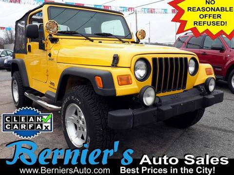 2006 Jeep Wrangler for sale in Woonsocket, RI