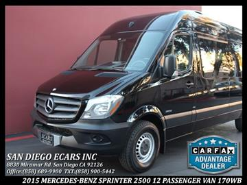 Used mercedes benz sprinter for sale in maine for Mercedes benz sprinter san diego