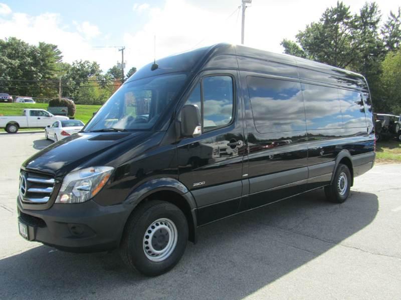2015 mercedes benz sprinter cargo 2500 170 wb 4x2 3dr extended cargo van in hooksett nh onyx. Black Bedroom Furniture Sets. Home Design Ideas